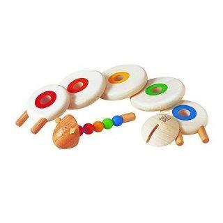 Bárányos összefűzős építőjáték, közepén színegyeztető korongokkal, rúddal (PT, 5150, 1-4 év)