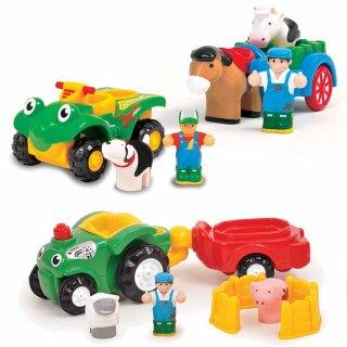 Barátok a farmról, 3 jármű egyben (Wow Toys, farmos járművek, 18 hó-5 év)