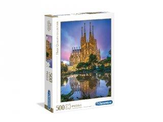 Barcelona puzzle, 500 db-os kirakó (CLEM, 8-99 év)