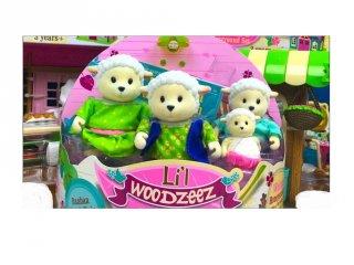 Bari család 4 tagú, Lil Woodzeez szerepjáték (3-6 év)