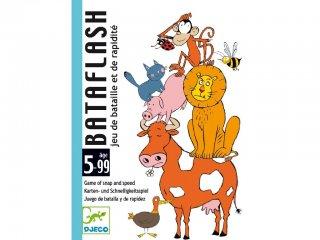 Bataflash (Djeco, 5118, gyorsasági kártyajáték, 5-9 év)