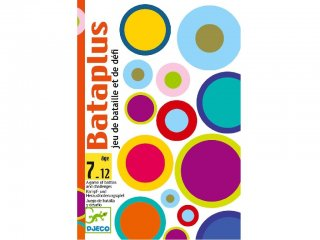 Bataplus (Djeco, 5134, összeadást gyakorló kártyajáték, 7-12 év)