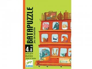 Batapuzzle (Djeco, 5125, logikai kártyajáték, 4-8 év)