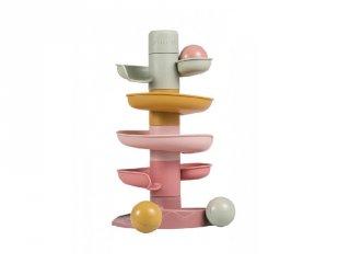 Bébi golyópálya pink, Little Dutch babajáték, építőjáték (2007439, 10 hó-2 év)