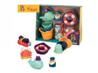 Bébi kezdő játékcsomag Fürdetés, B.Toys, bébijáték (3 hó-2 év)