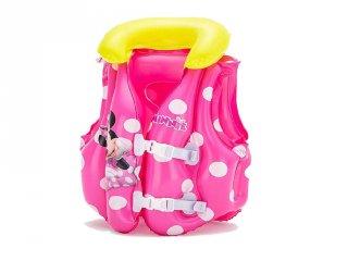Bestway Minnie egér mintás gyerek úszómellény, strandjáték (51x46 cm)