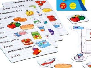 Bevásárlólista (Orchard, memória társasjáték, 3-7 év)