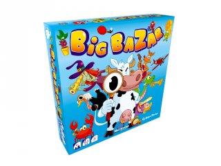 Big Bazar, party társasjáték (mókás, gyorsasági kártyajáték, 6-99 év)