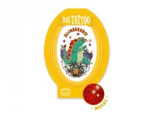Big Tattoo Godzilla, Djeco bőrbarát tetováló matrica - 9606