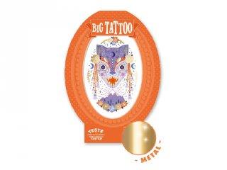 Big Tattoo Mystic beast, Djeco bőrbarát tetováló matrica - 9601