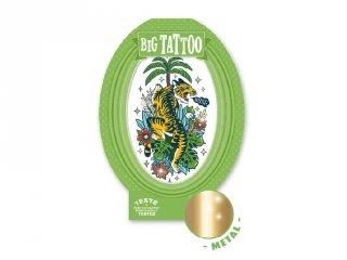 Big Tattoo Tiger, Djeco bőrbarát tetováló matrica - 9605