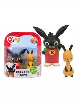 Bing nyuszi és barátai: Bing és Flop 2 db-os műanyag figura szett, szerepjáték (1,5-5 év)