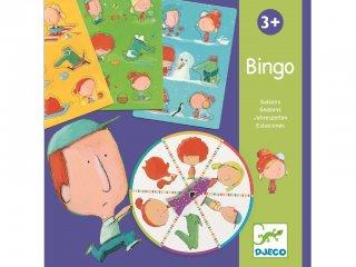 Bingo, Évszakok (Djeco, 8114, logikai társasjáték, 3-6 év)