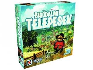 Birodalmi telepesek (stratégiai, Monopoly-féle, gémer társasjáték, 8-99 év)