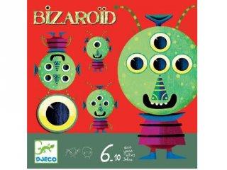 Bizaroid társasjáték (Djeco, 8490, memóriajáték, 6-10 év)