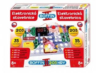 Boffin 203, elektromos kísérletező készlet (Boffin, 203 kísérlet, 35 alkatrész, tudományos játék, 7-12 év)