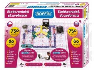 Boffin 750, elektromos kísérletező alapkészlet (Boffin, 750 kísérlet, 80 alkatrész, tudományos játék, 7-12 év)