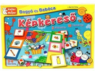 Bogyó és Babóca Képkereső, Lottó (Keller & Mayer, megfigyelős gyorsasági, azonosságot kereső, lottó társasjáték, 3-6 év)