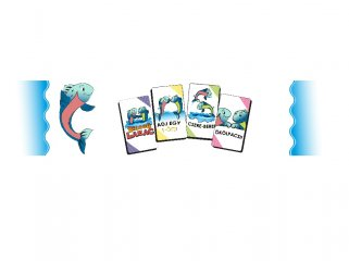 Boldog Lazac parti társasjáték, kártyajáték (6-99 év)