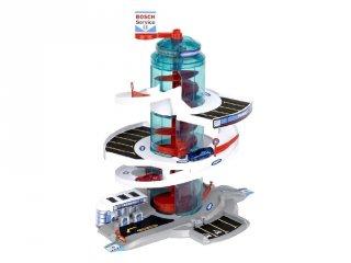 Bosch 3 szintes parkolóház fény- és hangeffektekkel, szerepjáték (3-8 év)
