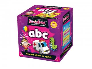 Brainbox, ABC (Memóriafejlesztő kvízj társasáték, 4-8 év)