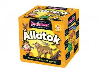 BrainBox, Állatok (memóriafejlesztő kvíz társasjáték, 8-99 év)