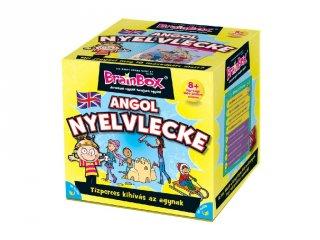 BrainBox, Angol nyelvlecke, memóriafejlesztő kvíz társasjáték (8-12 év)