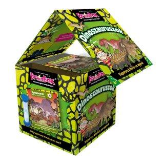 BrainBox Dinoszauruszok, memóriafejlesztő kvíz társasjáték (5-14 év)