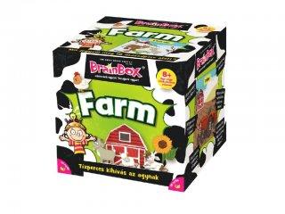 BrainBox, Farm (memóriafejlesztő kvíz társasjáték, 8-99 év)