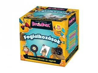 BrainBox, Foglalkozások, memóriafejlesztő kvíz társasjáték (4-8 év)