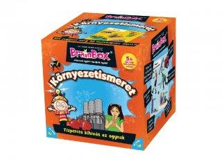 Brainbox, Környezetismeret Kicsiknek (memóriafejlesztő kvíz társasjáték, 5-99 év)