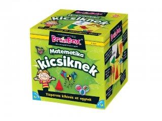 Brainbox, Matematika kicsiknek (memóriafejlesztő kvíz társasjáték, 5-99 év)