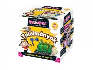 BrainBox, Találmányok (memóriafejlesztő kvíz társasjáték, 8-99 év)