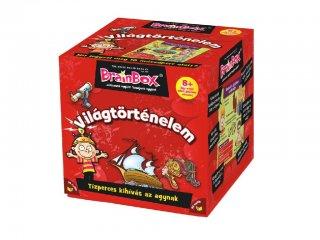 BrainBox, Világtörténelem (memóriafejlesztő kvíz társasjáték, 8-99 év)
