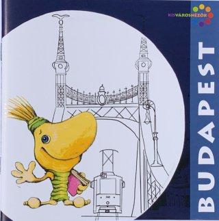Budapesti városnézés, interaktív foglalkoztató füzet + színező (7-14 év)