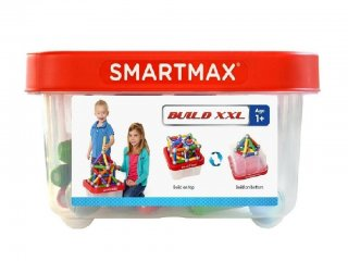 Build & Learn (Smartmax Education 100 db-os mágneses építőjáték, 3-7 év)