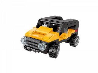Build N Learn Építve tanulj Autó fiúknak, Lego kompatibilis építőjáték készlet dobozban (QMAN, 2907, 3-12 év)