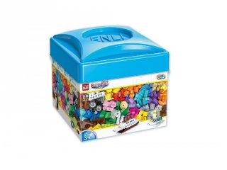 Build N Learn Építve tanulj, Lego kompatibilis építőjáték készlet dobozban (QMAN, 2901, 3-12 év)