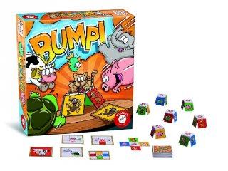 Bumpi (térlátást fejlesztő gyorsasági-megfigyelős társasjáték, 5-14 év)