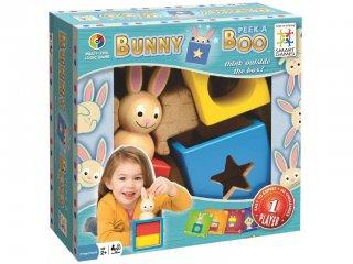 Bunny Boo (Smart Games, egyszemélyes logikai játék, 2-6 év)
