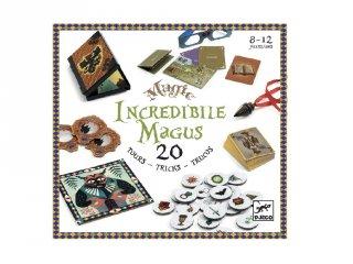 Bűvész készlet Hihetetlen varázsló 20 bűvésztrükkel, Djeco bűvész játék - 9963, 8-12 év)