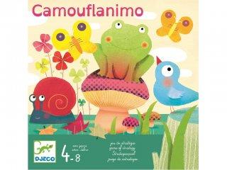 Camouflanimo (Djeco, 8497, stratégiai társasjáték, 4-8 év)