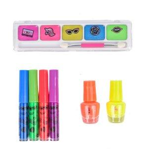 Canenco Create It! Make-up szett 7 db-os neon színekkel, kreatív készlet (6-10 év)
