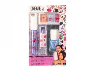 Canenco Create It! Make-Up szett holografikus színekkel, kreatív készlet (6-10 év)