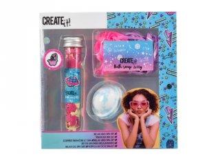 Canenco Create It! Pihentető fürdőszett, csillámló galaxis színekkel, kreatív készlet (6-10 év)
