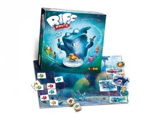 Cápakerülő, szórakoztató logikai társasjáték (Logis, 5-10 év)