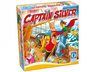 Captain Silver (PI, 2017. Év Játéka díjas, kalózos tapintós kincskereső társasjáték, 6-12 év)