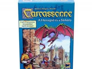 Carcassonne 3. kiegészítő, A Hercegnő és a Sárkány (Piatnik, családi, területfoglalós-, és stratégiai társasjáték, 8-99 év)