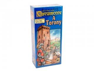 Carcassonne 4. kiegészítő, A Torony (Piatnik, területfoglalós-, stratégiai társasjáték, 8-99 év)