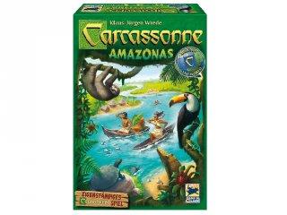 Carcassonne Amazonas társasjáték (Schmidt, stratégiai játék, 7-99 év)